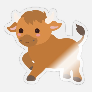 Stier Stier - Sticker