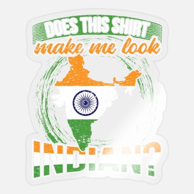 Indien INDIEN - Sticker