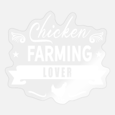 Poultry Poultry Gift Chicken Breeding Chicken Poultry Breeding - Sticker
