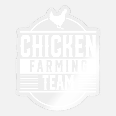Poultry Poultry chickens poultry farming - Sticker