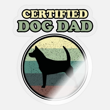 Confirmation Confirmed: dog father! - Sticker