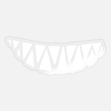 Minimum Smiling teeth minimum distance - Sticker