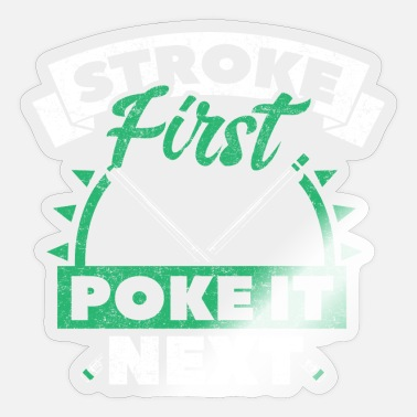 Cue Sports Billiard cue sport - Sticker