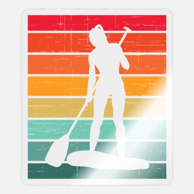 Stand Up Paddle Stand Up Paddle Stand Up Paddle Stand Up Paddling Gift - Sticker