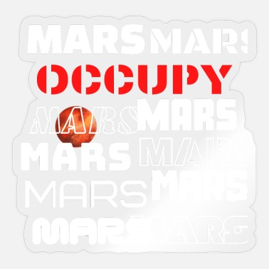 Occupy Occupy MARS Space - Limited Edition - Sticker
