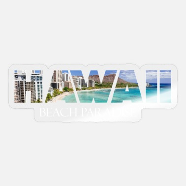 Hawaii Hawaii - Hawaii-fest - Sticker