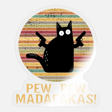 Baem pew pew madafakas - Sticker