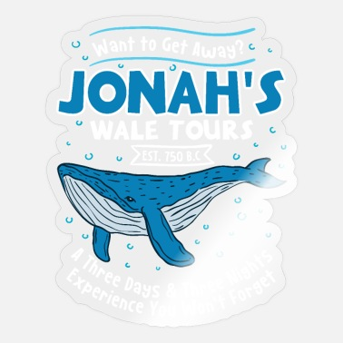 Wale Jonah's Wale Tours A Three Days & Three Nights Exp - Sticker