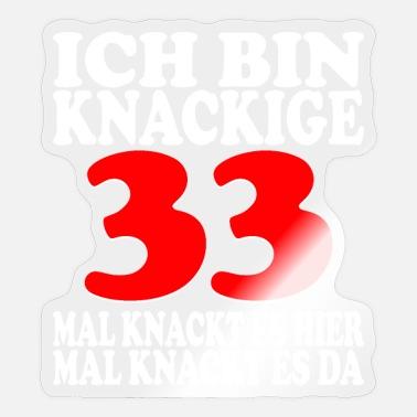Geburtstag 33 frau