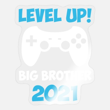 Leveling Up Big Brother Level Up Big Brother 2021 gaming-videogame - Sticker