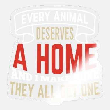 Animal Rescue Animal Shelter Animal Welfare Animal Rescue Animal Sanctuary - Sticker