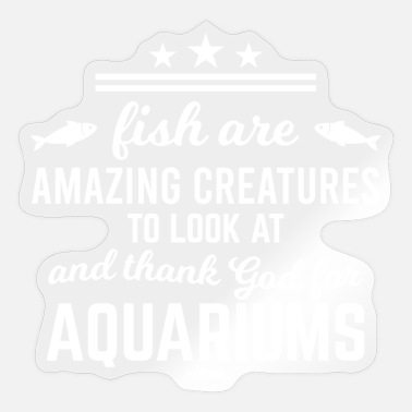 Freshwater Freshwater aquariums Saltwater aquariums - Sticker