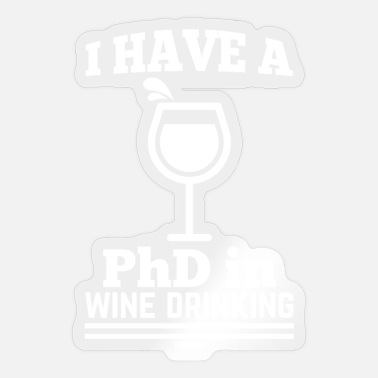 Wine Drinker Wine drinkers - Sticker