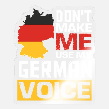 Germans Funny German Quotes German Speaking German - Sticker