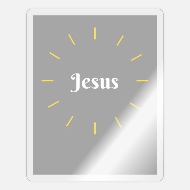 Tempel Jesus - Sticker