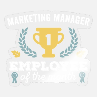 Marketing Manager Marketing Manager Medewerker van de Maand - Sticker