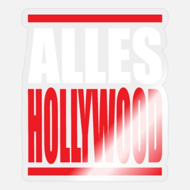 Hollywood ALLES HOLLYWOOD - Sticker