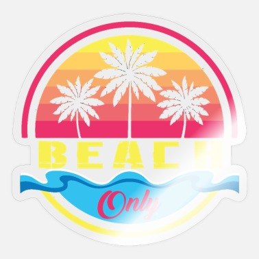 Beach Beach - Sticker