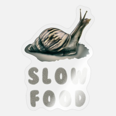 Slow slow food - Sticker
