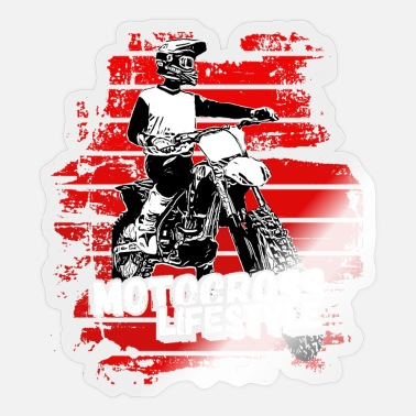 Freestyle Motocross Design Enduro / Lahjaidea / MX Retro - Tarra