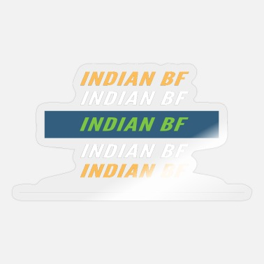 Bf INDIAN BF - Sticker
