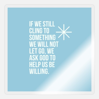 Definition If we still cling to sth we will not let go - Sticker