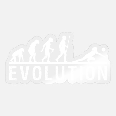 Volleyball Evolution Chain - Sticker
