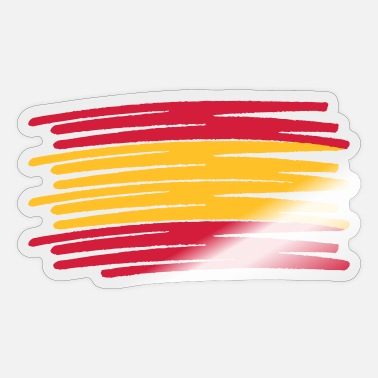 Bandera España bandera flag spain - Sticker