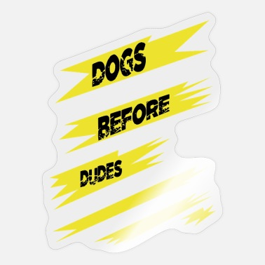 Dog Quote dog owner dog paw humor dog quote quote - Sticker