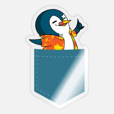 Idee Antarctische Animal Zoo Gift Penguin - Sticker