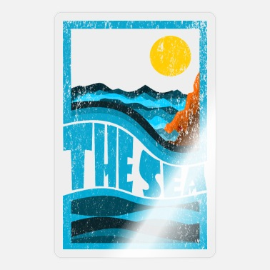 Seas the sea - Sticker