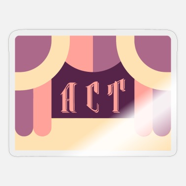 Acting Act - Sticker