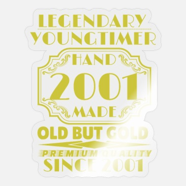 2001 2001 Youngtimer - Sticker