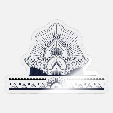 Muster Muster - Sticker