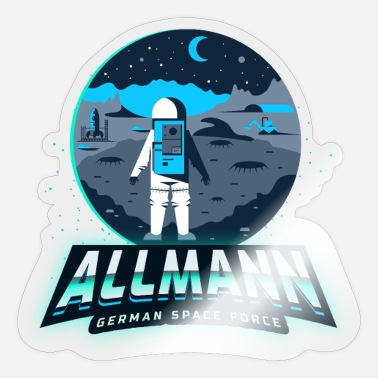 Space Force Allmann - german space force - Sticker
