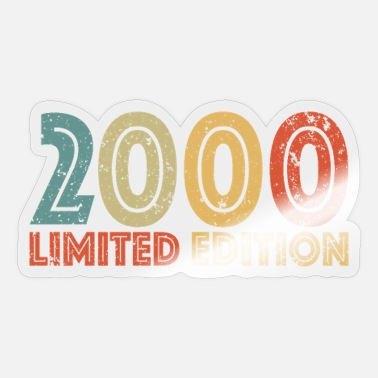 Gamepad Limited Edition 2000 - Sticker