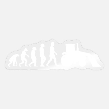 Movers Excavator Digger Bulldozer Earth Movers Evolution - Sticker