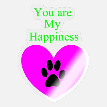 Corazon You Are My Happiness - Sticker