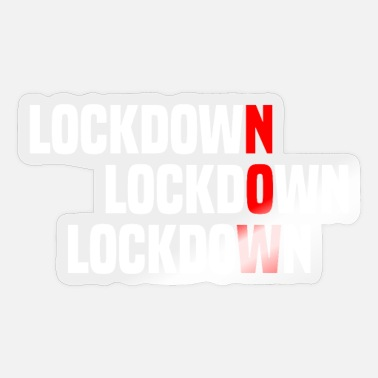 Hard Lockdown Nu - Corona - Sticker