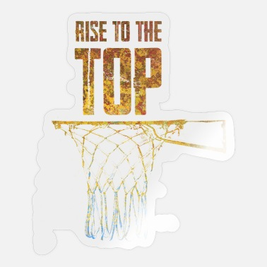 Banquet Basketball Rise To The Top - Sticker