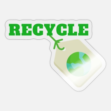 Planet Recycle - Sticker