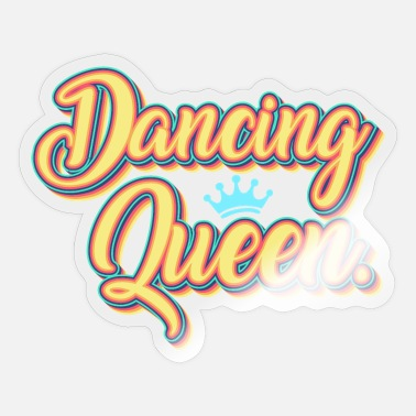 Tänzerin Tanzen Dancing Queen - Sticker