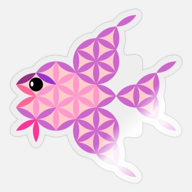 Shark The Fish Of Life - Sacred Animals - Sticker