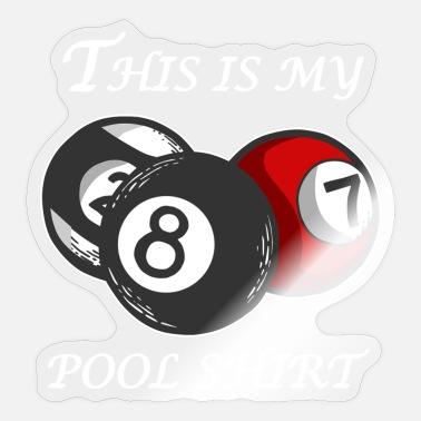 8 Ball-billard-jeu Born To Play Piscine Unisexe Tablier-Billard-Queue de Billard