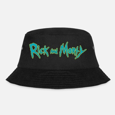 Rick And Morty Title Typography - Bucket Hat