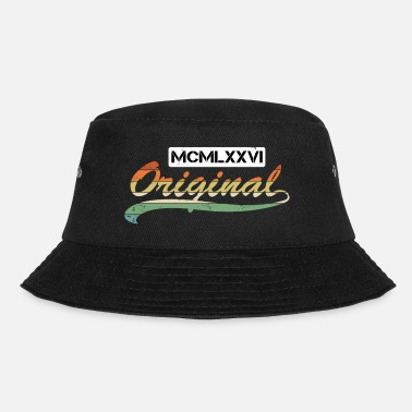 1976 Born in 1976 - Original retro Roman - Bucket Hat