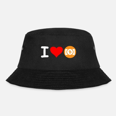 Cash Crypto Bitcoin Cash Love. - Bøttehatt