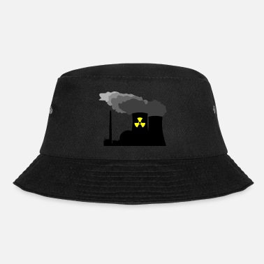 Nuclear Power Plant Nuclear Power - Bucket Hat