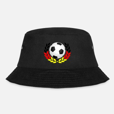 Black Red Gold Football black red gold - Bucket Hat