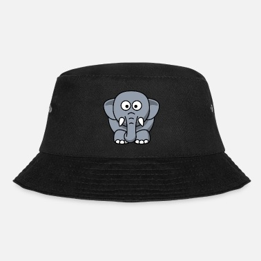 Tekstballon Funny elephant - Bucket Hat